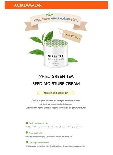 Missha Yeşil Çay Içeren Hassas Bakım Sağlayan Nemlendirici 110Ml Apıeu Green Tea Moisture Cream Renksiz